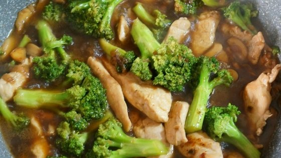 Spicy Chicken Broccoli Stir-Fry
