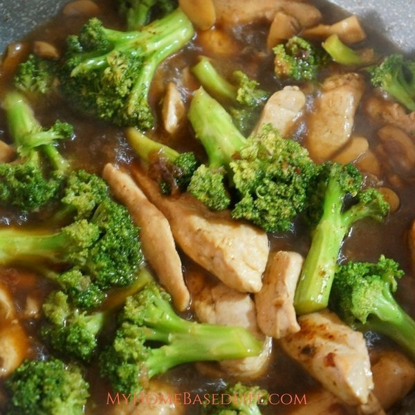 Spicy Chicken and Broccoli Stir Fry