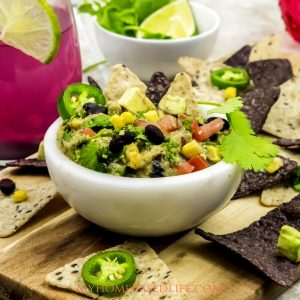 Tex-Mex Guacamole Recipe