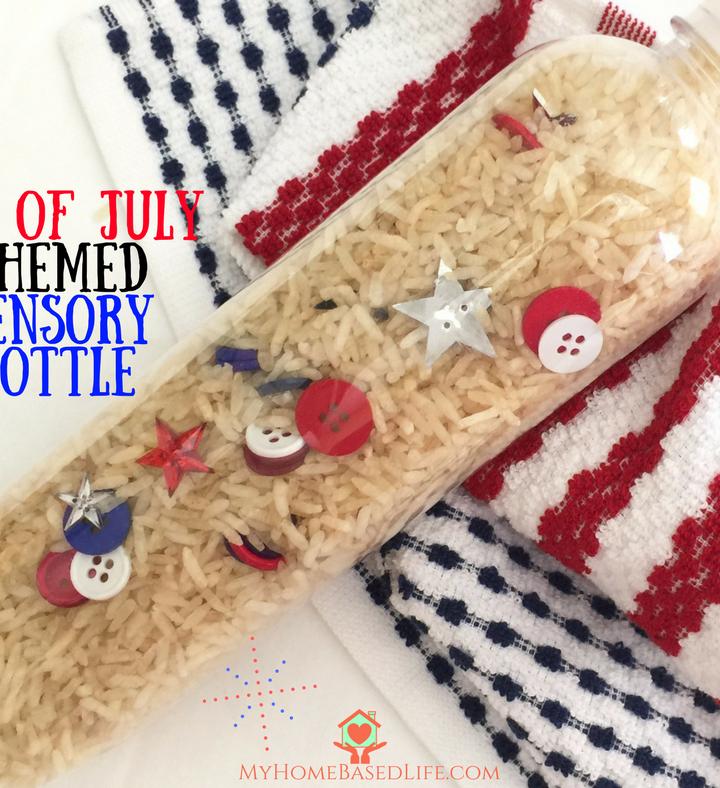 4th of July Sensory Bottle