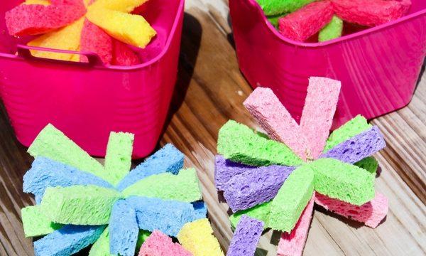 Sponge Soaker Balls – Summer Water Activity + Video