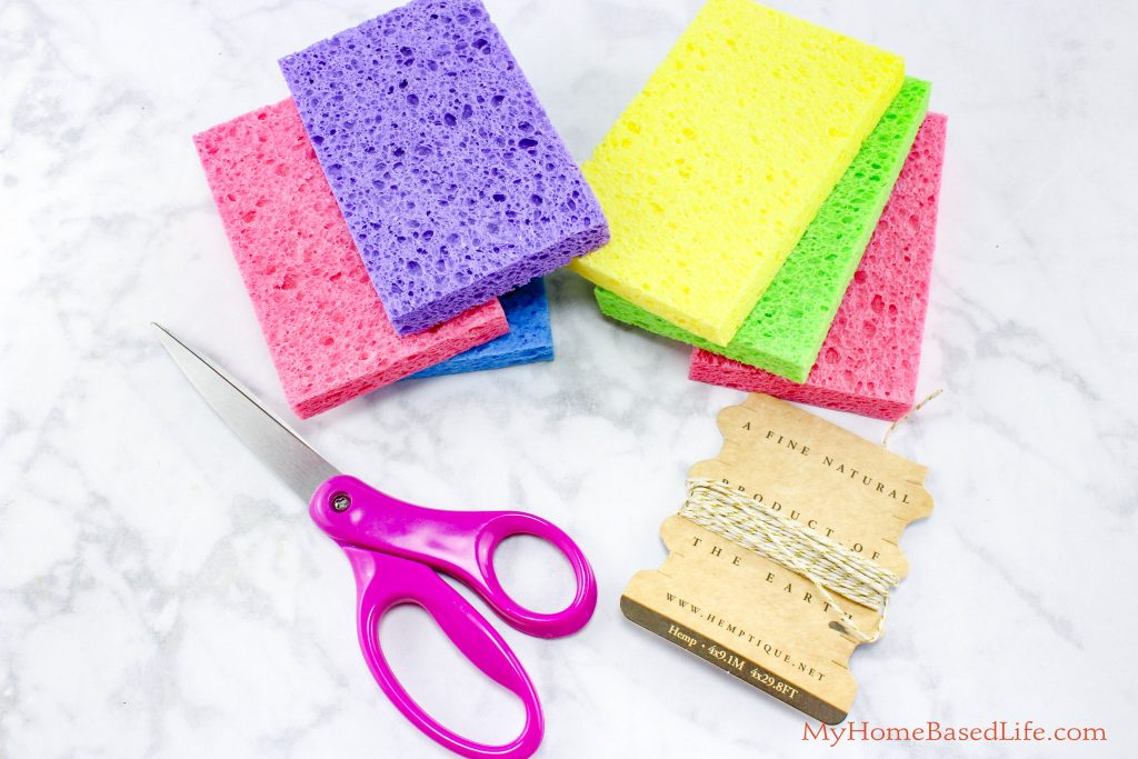 Sponge Soaker Balls - Summer Kids Water Activity and DIY