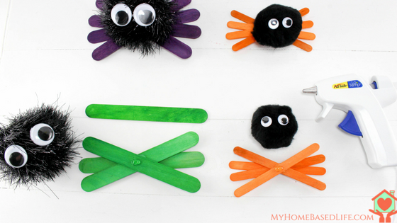 Halloween Spider Kids Craft.