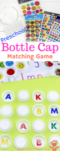 Bottle Cap Matching Game