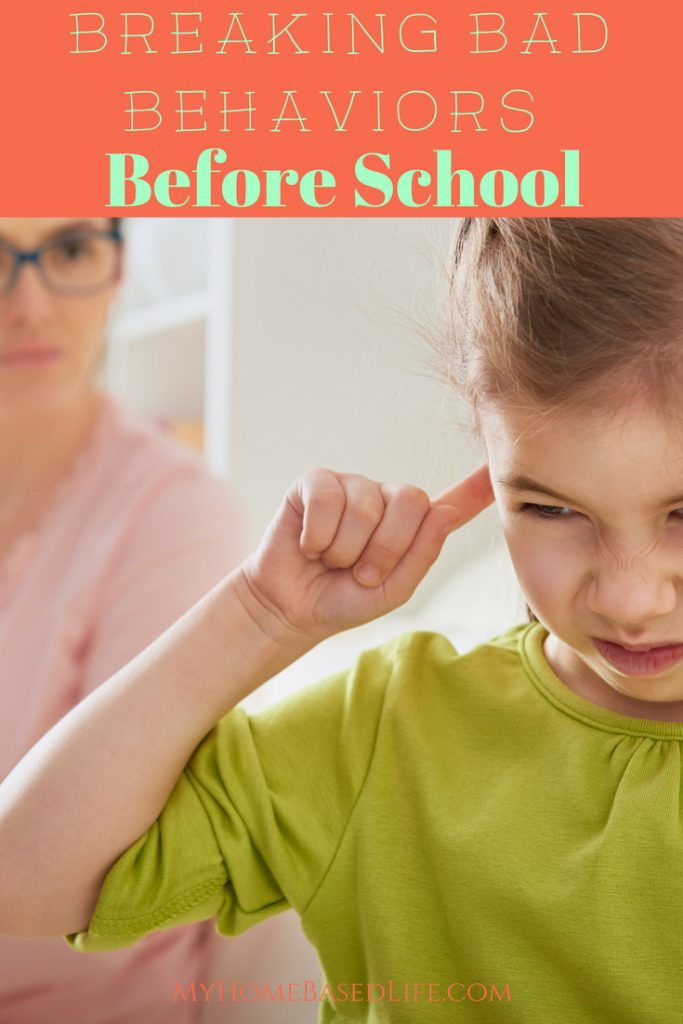 Does your child argue and throw fits? Learn How to Break Bad Behaviors in Your Child Before They Start School with these simple 4 tips. #parenting #kids #behaviors   Tips for entering Preschool   Tips for entering Kindergarten   Parenting Tips   Bad Behavior Tips  