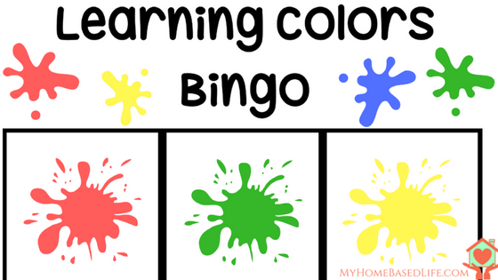Learning Colors Bingo - Download