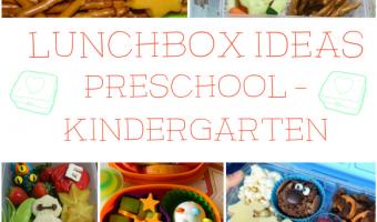 10 Back To School Lunch Ideas for Preschool – Kindergarten