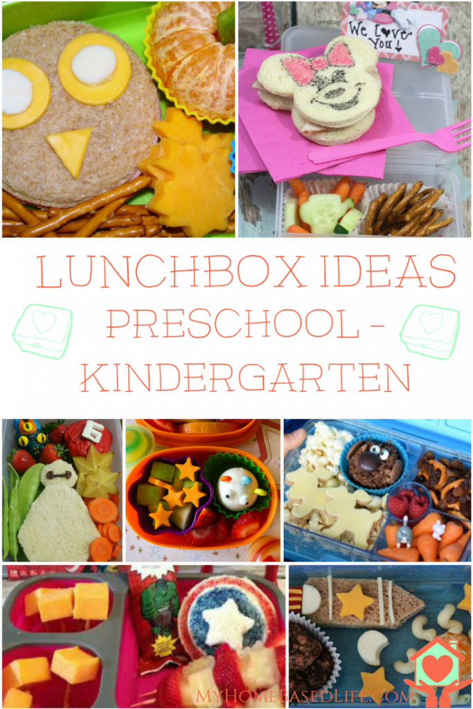 Back To School Lunch Ideas For Preschool