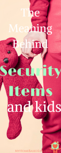 Security Items and Kids