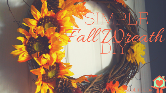 Simple Fall Wreath DIY