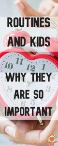 routines in children