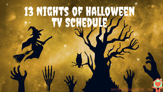 13 Nights of Halloween TV Schedule