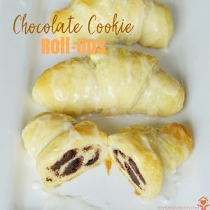 Chocolate Cookie Roll-Ups Recipe