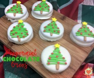 Peppermint Chocolate Oreo's Recipe
