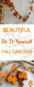 Easy Fall Garland DIY