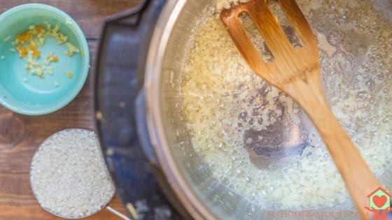 Instant Pot Butternut Squash Risotto