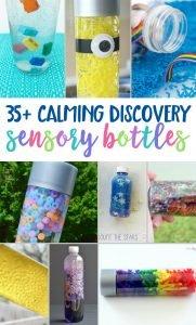 35 Calming Discovery Sensory Bottles