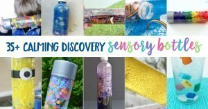 35 Calming Discovery Sensory Bottles
