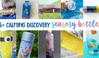 35 Calming Sensory Bottles To Make At Home