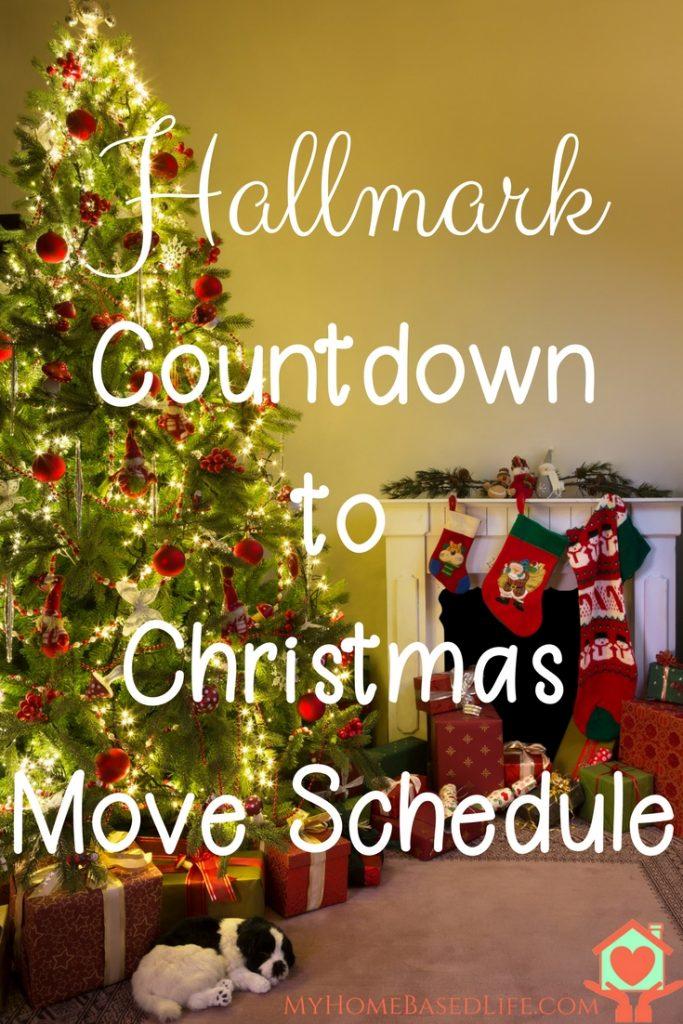 Hallmark Christmas Movies Tv Schedule My Home Based Life