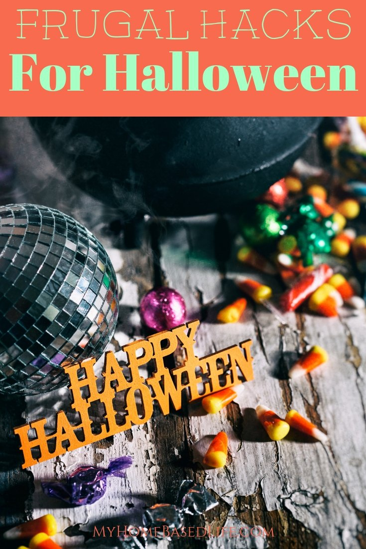 When I want to save money, Dollar Tree is always my go-to store. Here are my top 4 Halloween Hacks from Dollar Tree to use this year. #halloweenhacks #dollartree #frugal #hacks #myhomebasedlife | Halloween Hacks | Halloween Tips | Frugal Halloween Tips | Frugal Halloween Hacks