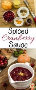 Spiced Cranberry Sauce