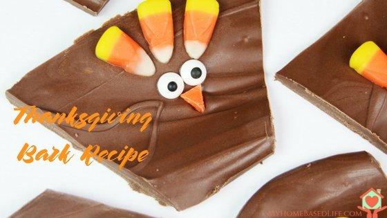 Thanksgiving Bark Recipe