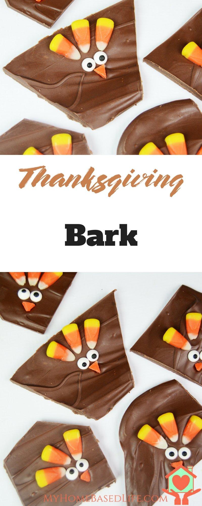 Thanksgiving Bark | Turkey Dessert | Thanksgiving Dessert | Thanksgiving Treat | Kid's Thanksgiving | Fall Themed Dessert | Turkey Treat | DIY Turkey |