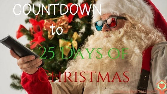 Christmas Schedle 2020 Countdown to 25 Days Of Christmas TV Schedule | My Home Based Life