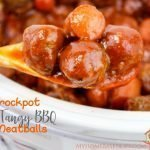Crockpot Tangy BBQ Meatballs Recipe