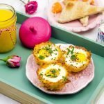 HashBrown Egg Nests Breakfast