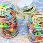 Hidden Gift Jars DIY