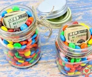 Hidden Gift Jars DIY