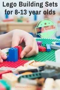 Need more complex building kits that challenge your kids more? Here are my go-to LEGO Building Sets Gift Guide picks for 8 - 13-year-olds #lego #giftguide #buildingsets #giftsforpreteens #myhomebaseflife | LEGO Gifts | Building Sets | Preteen Gift Ideas | Lego Gift Ideas | Lego building sets | Holiday Gift Guide