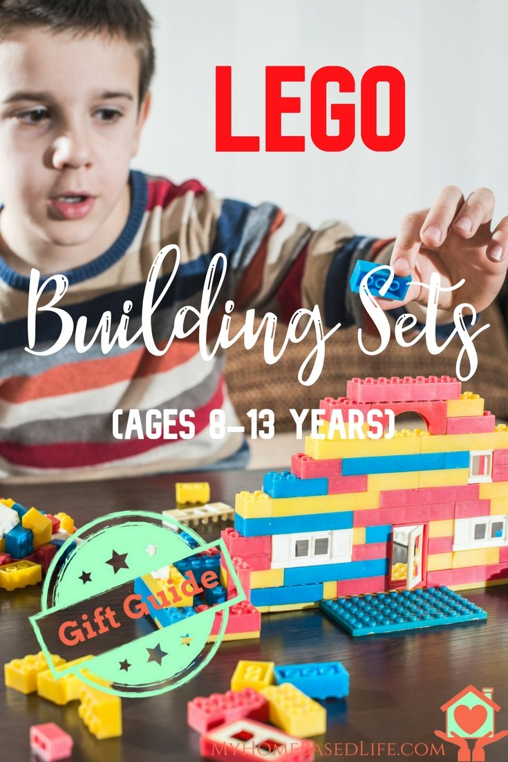 Lego Building Sets Gift Guide For Ages 8-13   #giftguide   #lego   Lego  