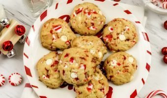 White Chocolate Peppermint Cookies Recipe