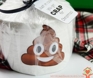 In Case You Get Crap For Christmas | Gag Gift + Printable Tag