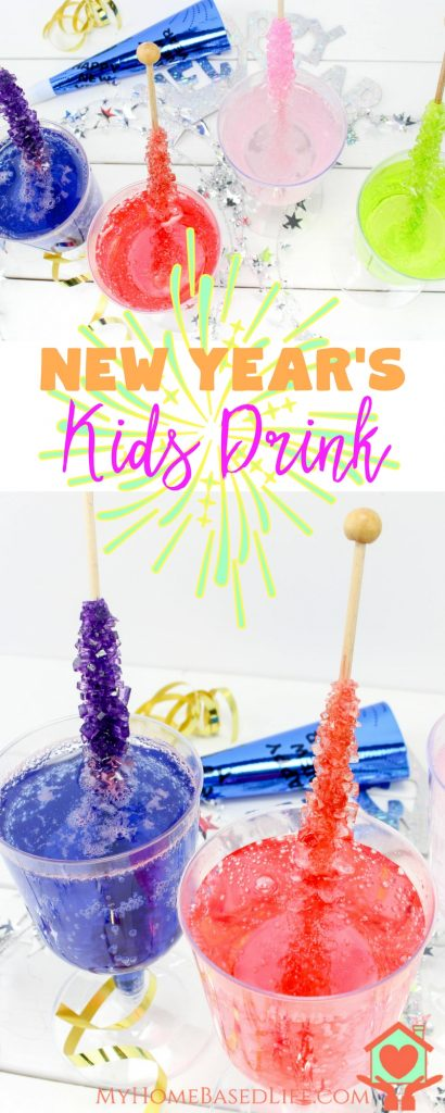 Fun New Year's Drink for Kids