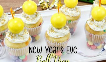 New Year's Ball Drop Cupcakes