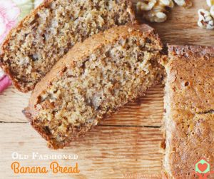 Old Fashioned Banana Bread Recipe – Just Like Grandma's