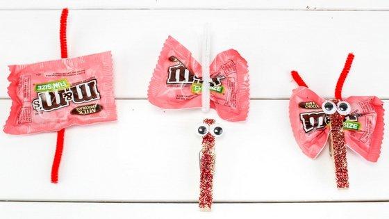 Valentine Candy Love Bugs Craft