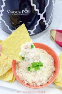 Crockpot Cheesy Sausage Dip