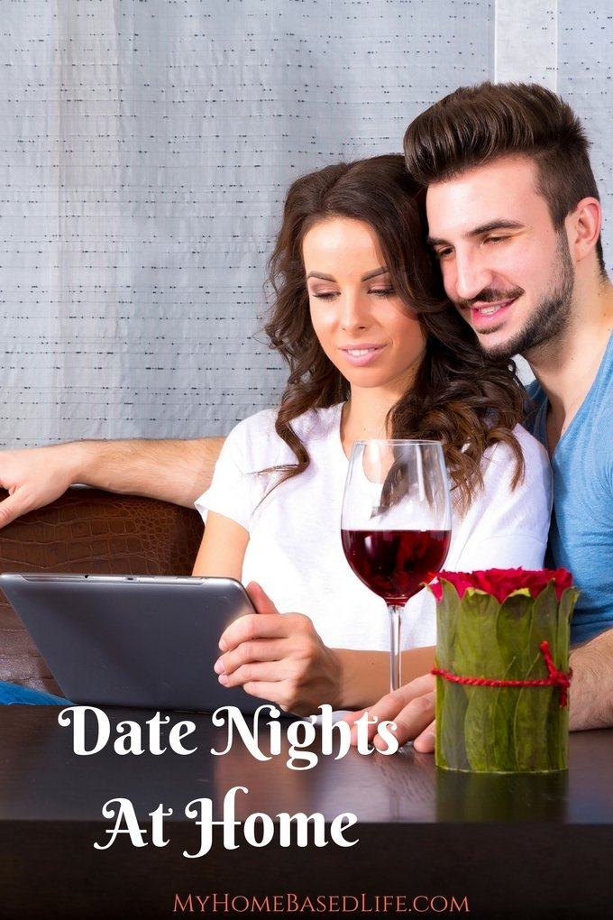 Date Nights Without Leaving the House | Valentine's Day Date Ideas | Romantic Date Nights | Date Nights | #datenight | #marriage