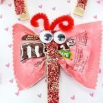 Valentine candy Love Bug Craft
