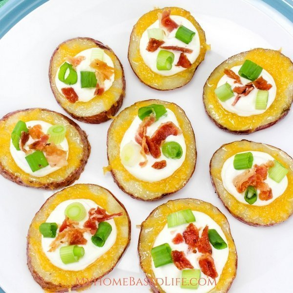 Loaded Potato Slices