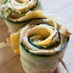 Turkey and Cheese Cucumber Roll-Ups Recipe
