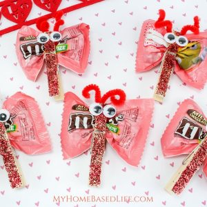 Candy Love Bugs Craft – Butterfly Treats