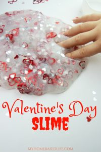 Valentine's Day Slime DIY + Video