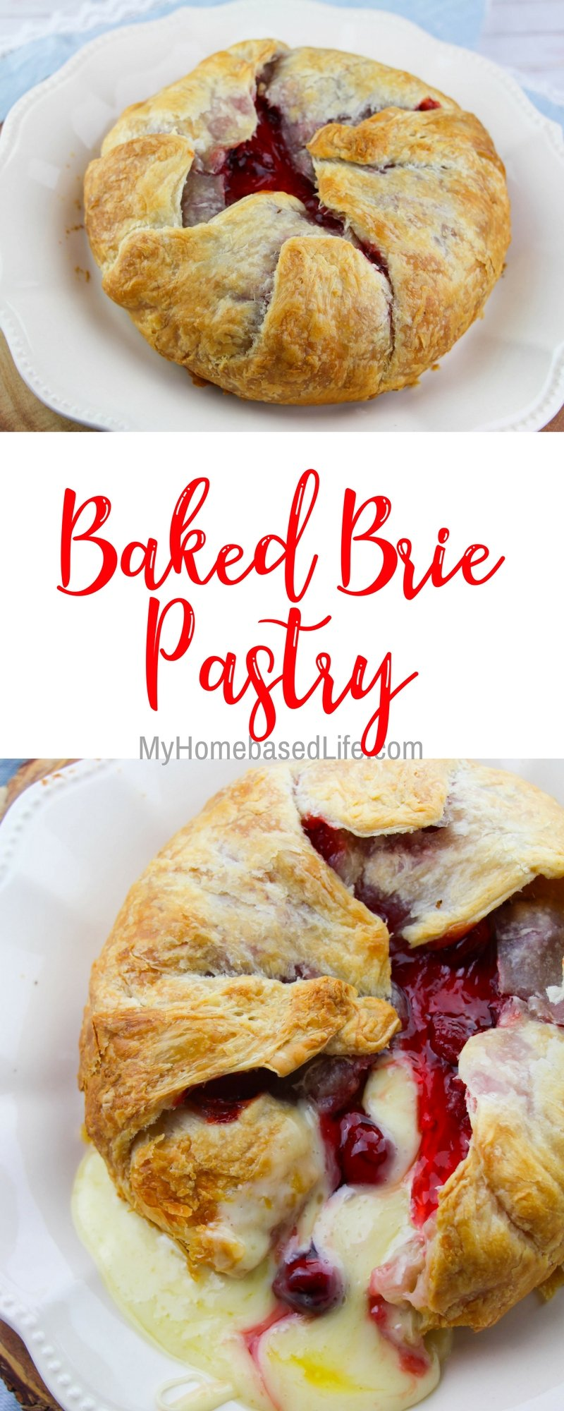 Baked Brie in Pastry Recipe