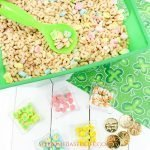 Lucky Charms Sensory Bin Kids Activity